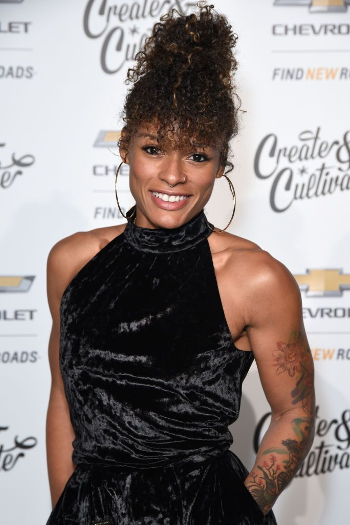 Melissa Alcantara attends the Create & Cultivate And Chevrolet Launch Event For The Create & Cultivate 100 List on January 24, 2019 in Los Angeles, California