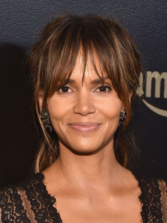 Actor Halle Berry attends Amazon Studios' Golden Globes Celebration at The Beverly Hilton Hotel on January 7, 2018