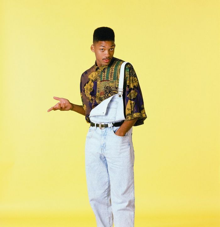 season 1 of fresh prince of bel air pictured: Will Smith as William Smith