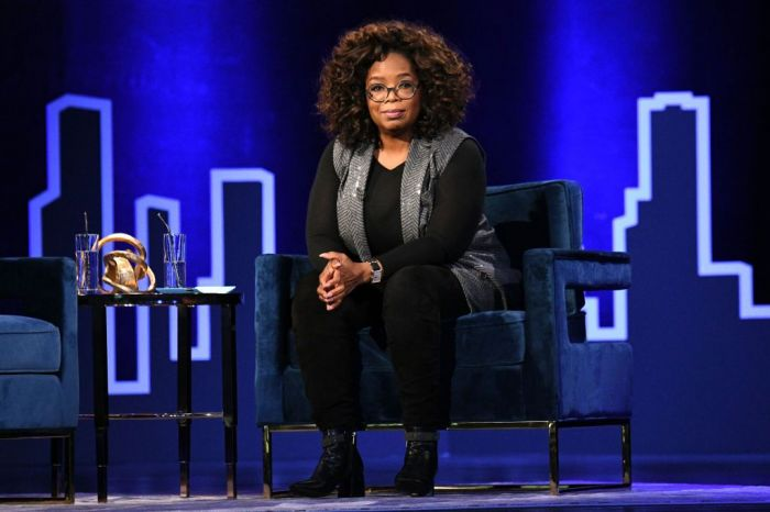 February 5, 2019 in New York City, Oprah Winfrey speaks onstage during Oprah's SuperSoul Conversations at PlayStation Theater