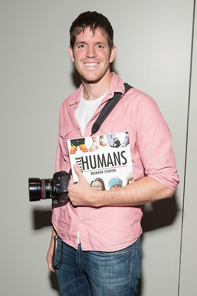 Photographer Brandon Stanton attends the Little Humans of New York panel at 2014 New York Comic Con Day 4
