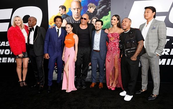 F9 Cast Pic Hollywood