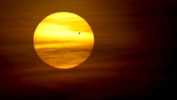 Venus Clouds Orange