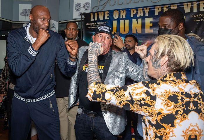 Lamar Odam Celebrity Boxing