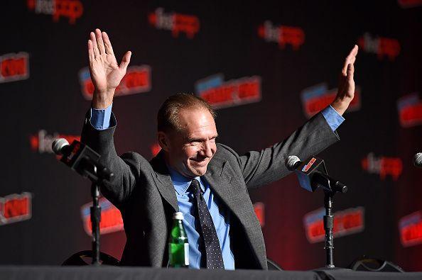 Ralph Fiennes Hands Up