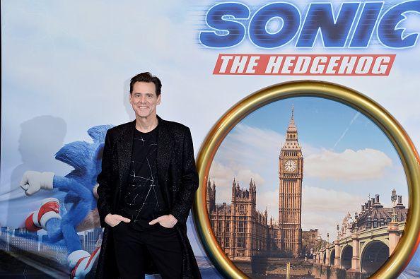 Jimmy Carrey Sonic The Hedgehog