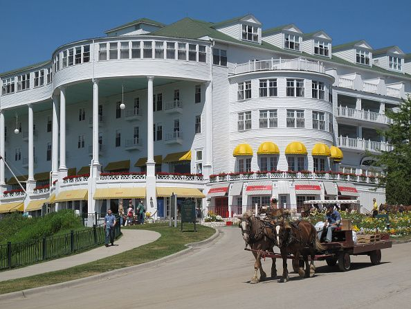 Mackinac Island, The Grand Hotel